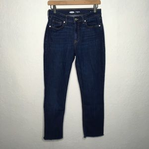 Old Navy The Power Jeans Sz 4 Straight Leg Ankle